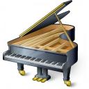 Grand Piano Icon 128x128