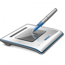 Graphics Tablet Icon 128x128
