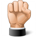 Hand Fist Icon 128x128