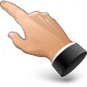 Hand Point 4 Icon 128x128