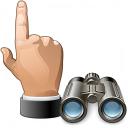 Hand Point Find Icon 128x128