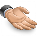 Hand Present Icon 128x128