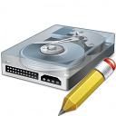 Hard Drive Edit Icon 128x128