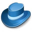 Hat Blue Icon 128x128