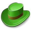 Hat Green Icon 128x128