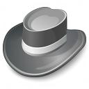 Hat Grey Icon 128x128