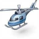 Helicopter Icon 128x128