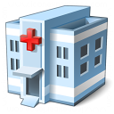 Hospital Icon 128x128