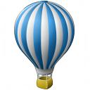 Hot Air Balloon Icon 128x128