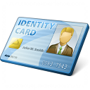 Id Card Icon 128x128