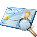 Id Card View Icon 128x128