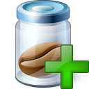 Jar Bean Add Icon 128x128