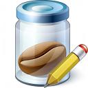 Jar Bean Edit Icon 128x128
