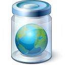Jar Earth Icon 128x128
