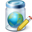 Jar Earth Edit Icon 128x128