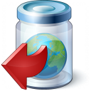 Jar Earth Out Icon 128x128