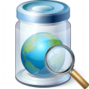 Jar Earth View Icon 128x128