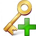 Key Add Icon 128x128