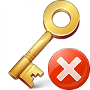 Key Error Icon 128x128
