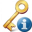 Key Information Icon 128x128