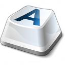 Keyboard Key Icon 128x128