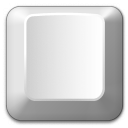 Keyboard Key Empty Icon 128x128