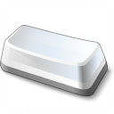Keyboard Key Wide Icon 128x128
