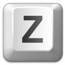Keyboard Key Z Icon 128x128