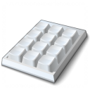 Keypad Icon 128x128