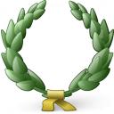 Laurel Wreath Icon 128x128