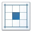 Layout Center Icon 128x128