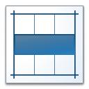 Layout Horizontal Icon 128x128