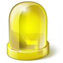 Led Yellow Icon 128x128