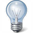 Lightbulb Icon 128x128