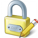 Lock Edit Icon 128x128