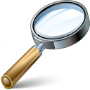 Magnifying Glass Icon 128x128