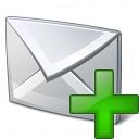 Mail Add Icon 128x128