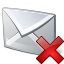 Mail Delete Icon 128x128