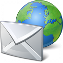 Mail Earth Icon 128x128