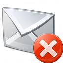 Mail Error Icon 128x128