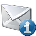 Mail Information Icon 128x128