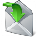 Mail Into Icon 128x128