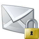 Mail Lock Icon 128x128