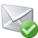 Mail Ok Icon 128x128