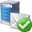Mail Server Ok Icon 128x128