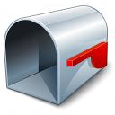 Mailbox Empty Icon 128x128
