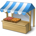 Market Stand Icon 128x128