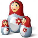 Matryoshka Icon 128x128