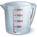 Measuring Cup Icon 128x128