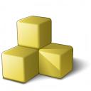 Memory 2 Yellow Icon 128x128